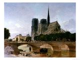 Notre Dame, Paris, 1884 Giclee Print by Felix Benoist