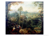 The Magpie on the Gallows, 1568 Impression giclée par Pieter Bruegel the Elder