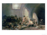 The Madhouse, 1812-15 Giclee Print by Francisco de Goya