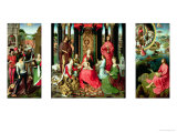Triptych of St. John the Baptist and St. John the Evangelist, 1474-79 Giclee Print by Hans Memling