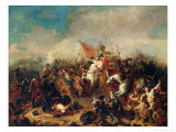 The Battle of Hastings in 1066 Giclee Print by Francois Hippolyte Debon