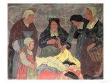 The Fabric Seller, circa 1898 Giclee Print by Paul Serusier