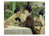 The Garden of Pere Lathuille, 1879 Giclee Print by Édouard Manet