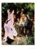 In the Garden, or under the Trees of the Moulin De La Galette, 1875 Giclee-vedos tekijänä Pierre-Auguste Renoir
