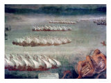 The Battle of Lepanto, 7th October 1571 Giclee Print by Luca Cambiaso