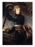 General Bonaparte (1769-1821) on the Bridge at Arcole, 17th November 1796 Reproduction procédé giclée par Antoine-Jean Gros