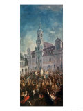 The Coronation of Empress Maria Theresa of Austria (1717-80) in Pressburg, 1768 Giclee Print by Franz Messmer