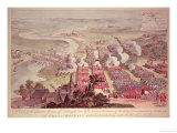 A View of the Glorious Action of Dettingen, June 16-27 1743 Giclee Print by F. Daremberg