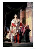 Emperor Francis I of Austria (1768-1835) Giclee Print by Johann Baptist Hoechle