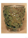 The Lycurgus Cup, with Relief Decoration of the Death of Lycurgus, Lit from the Front Giclee Print