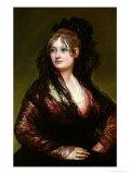 Dona Isabel De Porcel, Exh. 1805 Giclee Print by Francisco de Goya