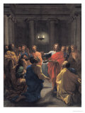 Christ Instituting the Eucharist, or the Last Supper, 1640 Giclee Print by Nicolas Poussin