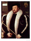 Thomas Wentworth, 1st Baron Wentworth of Nettlestead, 1549 Premium Giclee Print by John Bettes the Elder