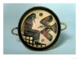 Laconian Cup Depicting Zeus and the Eagle, circa 550 BC Giclee Print by Naukratis Painter 