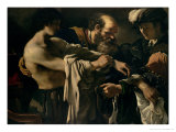 The Return of the Prodigal Son Lámina giclée por Guercino (Giovanni Francesco Barbieri)