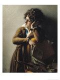 Portrait of Romainville-Trioson, 1800 Giclée-tryk af Anne-Louis Girodet de Roussy-Trioson