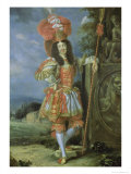 "Leopold I (1640-1705), Holy Roman Emperor, in Theatrical Costume, Dressed as Acis from ""La Galatea"" Giclee Print by Thomas of Ypres"