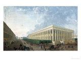 The Palais De La Bourse Giclee Print by Henri Courvoisier-Voisin