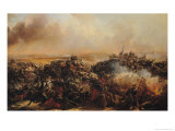 The Battle of Sebastopol, Central Section of Triptych, after 1855 Giclee Print by Jean Charles Langlois