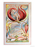 Songs of Innocence, Infant Joy, 1789 Lámina giclée por William Blake
