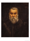 Self Portrait Giclee Print by Jacopo Robusti Tintoretto
