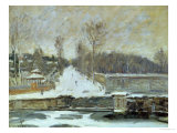 The Watering Place at Marly-Le-Roi, 1875 Giclee Print by Alfred Sisley