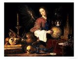 Vanitas, circa 1634 Giclee Print by Antonio Pereda y Salgado