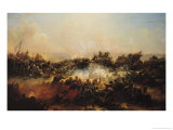 The Battle of Sebastopol, Right Hand Section of Triptych, after 1855 Giclee Print by Jean Charles Langlois