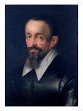 Johannes Kepler (1571-1630), Astronomer, circa 1612 Giclee Print by Hans von Aachen
