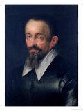 Johannes Kepler (1571-1630), Astronomer, circa 1612 Giclee Print by Hans von Aachen
