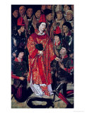 St. Vincent of Saragossa (D.304), Protector of Lisbon, from the Altarpiece of St. Vincent, c. 1495 Giclee Print by Nuno Goncalves