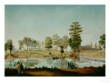 The Olivier Plantation, 1861 Giclee Print by Adrian Persac