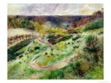 Landscape at Wargemont, 1879 Giclee Print by Pierre-Auguste Renoir