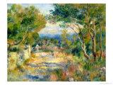 L'estaque, 1882 Giclée-tryk af Pierre-Auguste Renoir