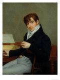 Portrait of Pierre Zimmermann (1785-1853) 1808 Giclee Print by Antoine-Jean Gros
