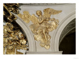 Louis XIV Style Angel, from the Arch to the Right of the High Altar in the Chapel (Gilded Bronze) Giclee Print