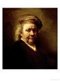 Self Portrait, 1669 Giclee Print by  Rembrandt van Rijn
