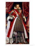 Philip Herbert, 4th Earl of Pembroke, circa 1615 Giclee Print by William Larkin