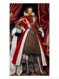 Philip Herbert, 4th Earl of Pembroke, circa 1615 Giclee Print by William Larkin