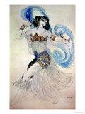 """Costume Design for Salome in """"Dance of the Seven Veils,"""" 1908 Reproduction procédé giclée par Leon Bakst"""