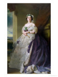 Portrait of Lady Middleton (1824-1901), 1863 Premium Giclee Print by Franz Xavier Winterhalter