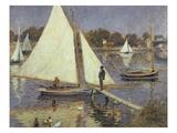 The Seine at Argenteuil, 1874 Giclee-trykk av Pierre Auguste Renoir