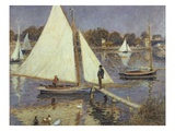 The Seine at Argenteuil, 1874 Premium Giclee Print by Pierre-Auguste Renoir