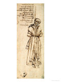 Study of a Hanged Man: Bernardo Baroncelli, Assassin of Giuliano De Medici, 1479 Giclee Print by  Leonardo da Vinci