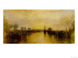 Chichester Canal, circa 1829 Giclée-Druck von William Turner