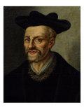 Portrait of Francois Rabelais (circa 1494-1553) Giclee Print
