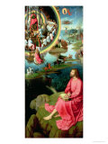 St. John the Evangelist at Patmos, from the Mystic Marriage of St. Catherine Triptych, 1479 Giclee Print by Hans Memling