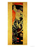 Judith II (Salome) 1909  Lmina gicle por Gustav Klimt