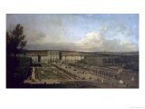 Schonbrunn Palace and Gardens, 1759/61 Giclee Print by Bernardo Bellotto