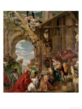 Adoration of the Kings, 1573 Giclée-tryk af Paolo Veronese